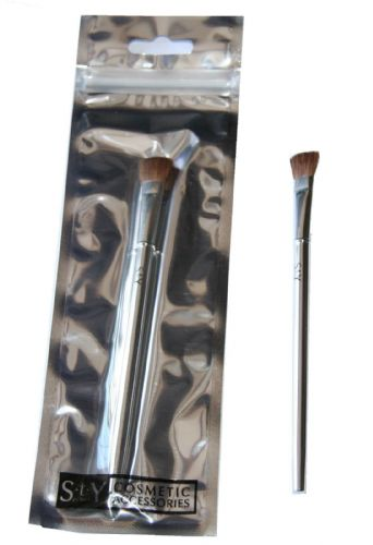 24 x S.T.Y. Designs Eyeshadow Brush | 15cm Long | Foil Packaged | Wholesale